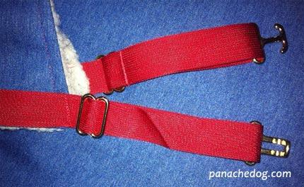 winter dog coats hardware