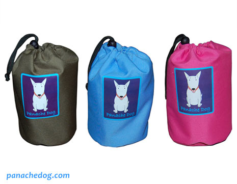 dog rain coat drawstring bag