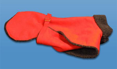 Panache Dog Ultra Suede Coat
