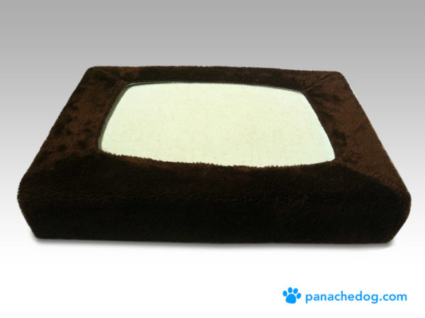 dog bed replacement covers chocolate