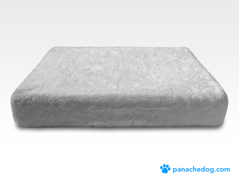 white dog bed replacement covers