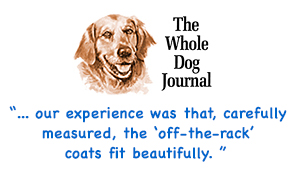 whole dog journal review for panache dog coats